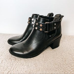 Bar lll | Moto Studded Wiley Booties